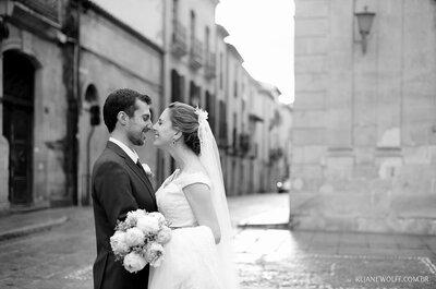 Destination Wedding de Isadora & Leandro: cerimônia clássica e emocionante em Salamanca, na Espanha!