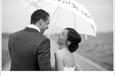 Es regnet an Ihrem Hochzeitstag? Na und...?