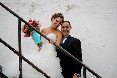Romance y decoración vintage: Una boda llena de estilo y color... ¡Todo un deleite!