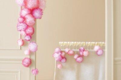 Magiczne dekoracje tiulowymi kulami
