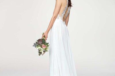 Kiabi présente sa robe de mariée au prix doux et joli symbole fleuri