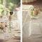 Detalhes cor de rosa na mesa do seu casamento. Foto: One Love Photo