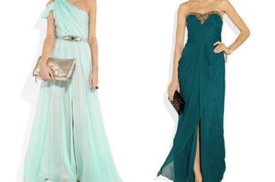 Vestidos de fiesta 2013 con colores de temporada