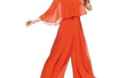 Elegantes vestidos de fiesta a todo color