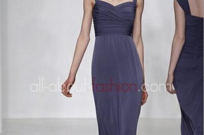 Robes de mariée de couleur violette Amsale 2013
