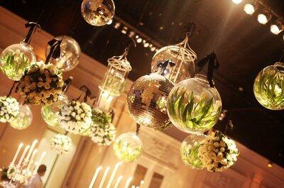 Atrévete a decorar tu matrimonio con detalles negros, ¡aquí te damos los tips!