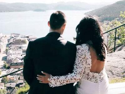 Emilia i Peter! Norweski ślub tylko u Nas!