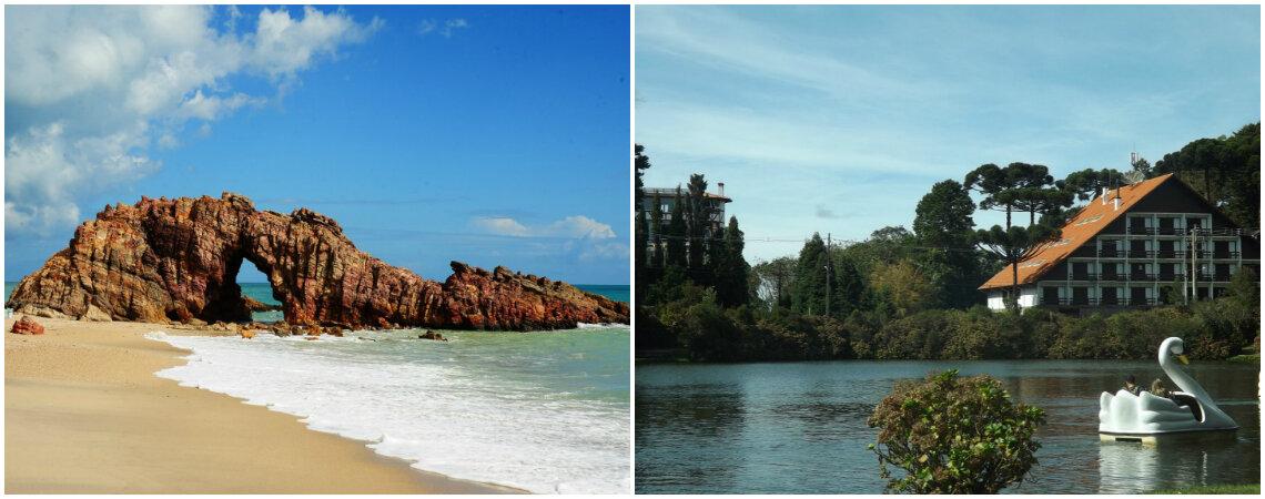 As cidades mais lindas do Brasil para viajar a dois: se prepare para muito romance!