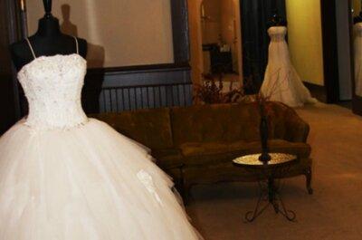 9 errores que cometen las novias cuando van a comprar el vestido