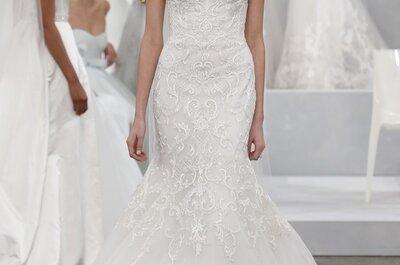 Die Brautmoden-Kollektion 2015 von Monique auf der New York Bridal Week