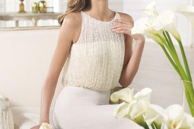 Les robes de mariée Atelier de Pronovias Collection 2015, entre délicatesse et savoir-faire