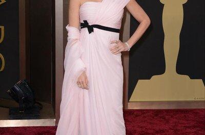 Referências do Oscar 2014: do tapete vermelho para o altar