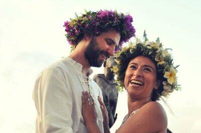 Una boda original en Isla de Pascua