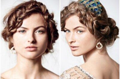 Aposte na trança para seu penteado de noiva