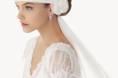 Belíssimos véus para noivas de Rosa Clará