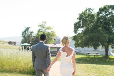 A Rustic Sonoma County Farm Wedding