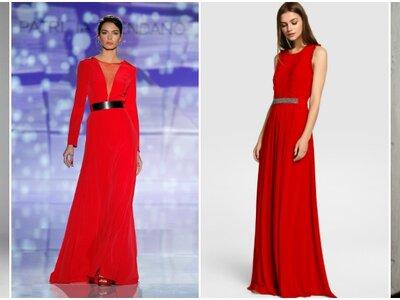 28 vestidos de festa vermelhos longos 2017. Escolha o seu favorito!