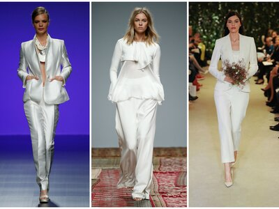 She Wears the Pants: The Rise of the Wedding Pantsuit