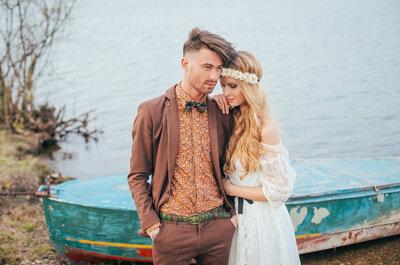 Boho Chic: Una tendencia que arrasa en bodas del 2016 ¡Conoce todo sobre ella!