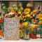 Nada más lindo que un montaje con flores multitono y detalles ultra coloridos