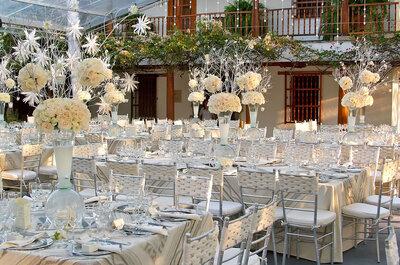 ¿Cómo tener un matrimonio en color plata? Cuatro ideas elegantes y refinadas para decorar tu boda