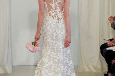 Ángel Sánchez: Románticos vestidos de novia 2014