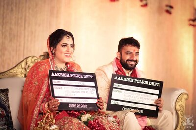 Fabulous Real Wedding of Aakriti and Rishabh: The one with the Tinder couple