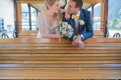 Découvrez l'histoire et le magnifique mariage de Rachael et Nicolas entre le Pays de Galle et la Haute-Savoie