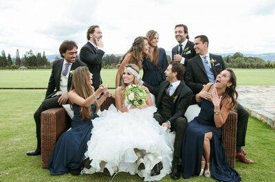 ¡5 emociones que encontrarás en las fotografías de tu boda!