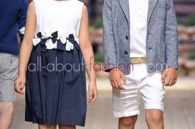 Moda ślubna dla dzieci, kolekcja Il Gufo 2013