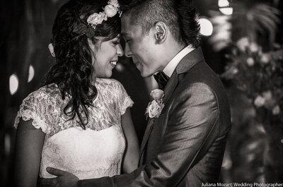 Casamento Milena & Thiago: rústico, sofisticado e super personalizado