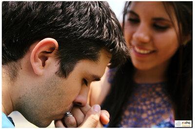 La joya del amor presente en una fotografía