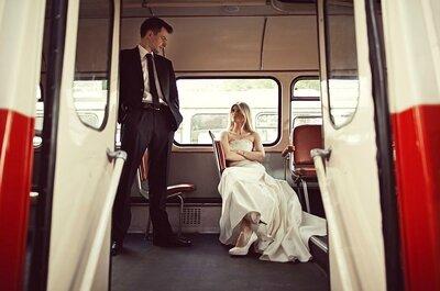Pięć pomysłów na zaskakujący transport do ślubu