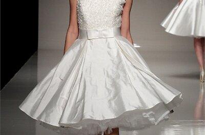 Il trend per la sposa 2013? Il tubino, corto e chic!
