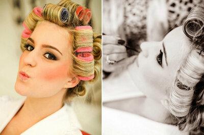 Inspirate en Marilyn para tu peinado y maquillaje de novia