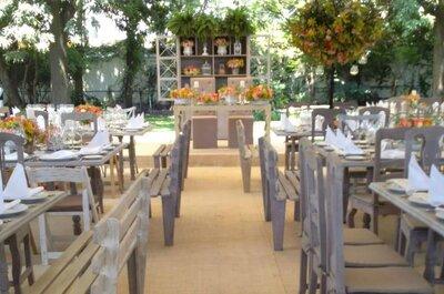 Los 10 mejores jardines para boda en México DF: Tu boda con encanto al natural