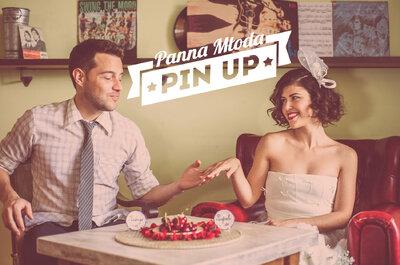Ślubna sesja zdjęciowa w stylu pin-up