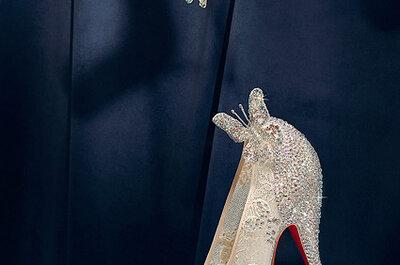 Zapatos de novia al estilo princesa de Disney