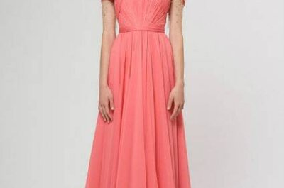 Inspiradores vestidos em tons coral e aqua: qual o seu preferido?