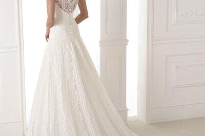 Confecciones que hipnotizan: Así lucen los vestidos de novia 2015