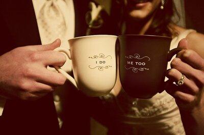 Que tal seu casamento no café da manhã?