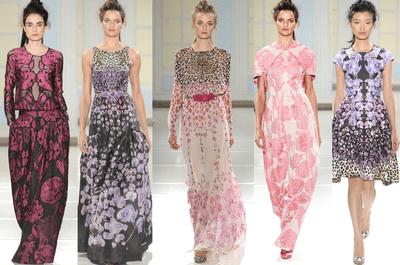 Vestidos de fiesta 2014 de Temperley London en tendencia para primavera
