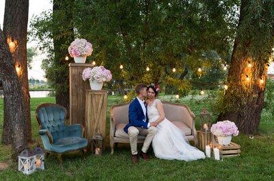 Поразительная свадьба Лёшы и Насти в нежных розовых цветах!