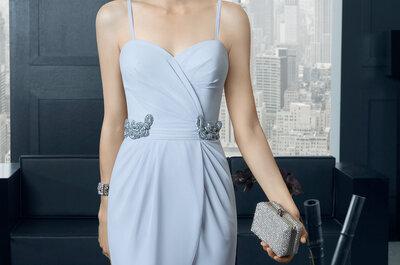 Vestidos cortos para invitadas del 2015