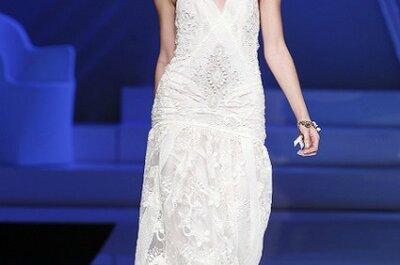 Sélection de robes de mariée 2013 à bretelles