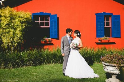 Bebel e Luiz Filipe: mini wedding personalizado em Petrópolis