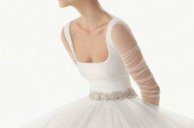 Vestido de noiva estilo 'bailarina': um encanto by Rosa Clará