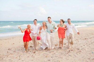 Real Wedding: Eine Hochzeit in Coral