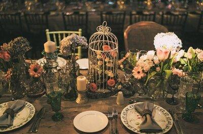 7 ideas asombrosas para organizar una boda vintage