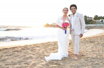 Paloma y Rafael, un amor que nació frente al mar